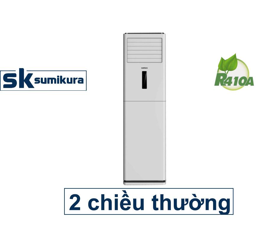Điều hòa tủ đứng 2 chiều thường 48000Btu lạnh, 49000Btu sưởi Sumikura APF/APO-H480