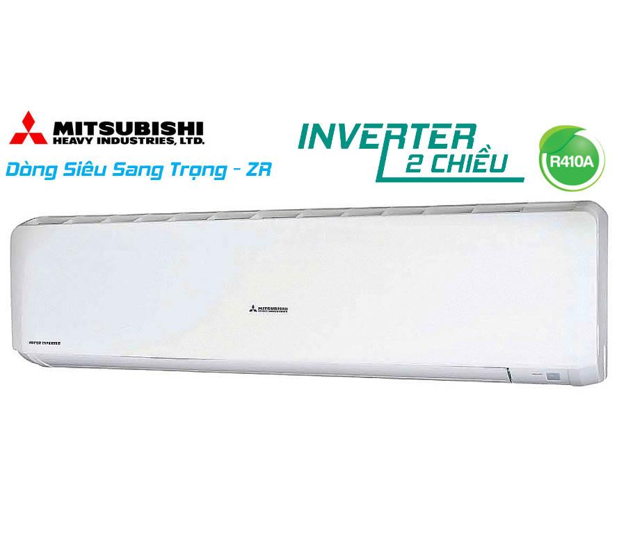 Điều hòa 2 chiều inverter 24,225Btu lạnh, 27,296Btu sưởi Mitsubishi Heavy SRK71ZR-S/SRC71ZR-S