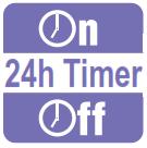 định giờ bật tắt 24h