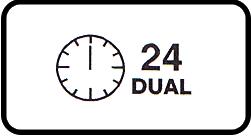bộ hẹn giờ bật tắt 24h kép theo thời gian thực
